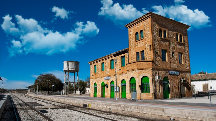 Camporrobles Railway Station